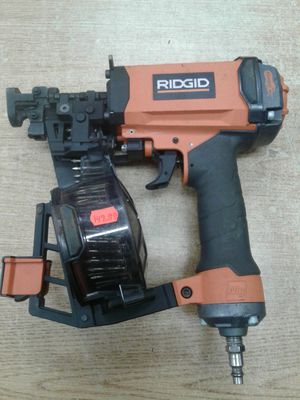 RIDGID R175RNE 1-3/4 in. 15-Gauge Air Coil Roofing Nailer for Sale in Baltimore, MD