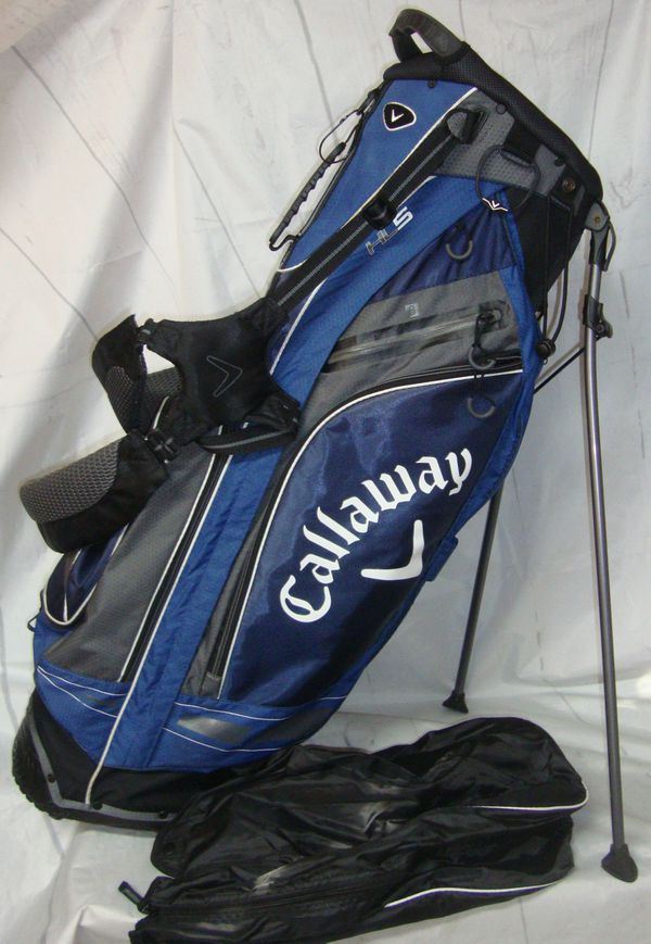 bac64a8270 Callaway Hyper Lite 5 lightweight Stand Bag 5 way divider for Sale ...