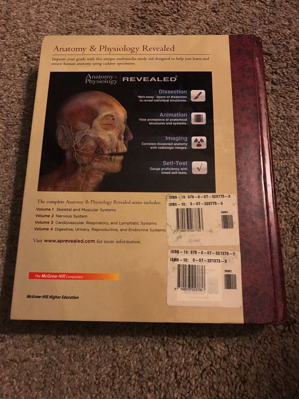 Anatomy & Physiology by Saladin, fourth (4th) edition for Sale in ...
