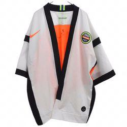 Nike x Ambush Top Numbering Jacket White/ Orange Thumbnail