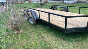 Photo Utility trailer & car trailer
