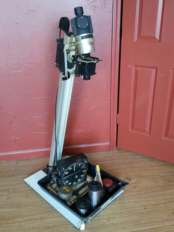 Darkroom Photo enlarger & other antique photography equipment-enlarger,  dark room equipment for Sale in Fayetteville, TN - OfferUp