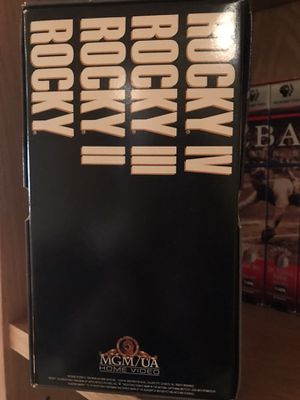 ROCKY set VHS for Sale in Lorton, VA