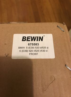 Unopened box of BMW struts for Sale in San Francisco, CA