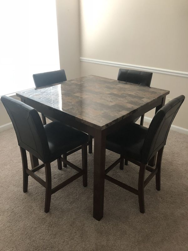 Counter Height Person Table With Chairs For Sale In Alpharetta - 4 person counter height table