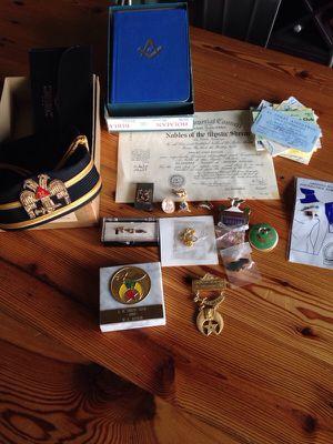 Masonic and elks memorabilia for Sale in Portland, OR