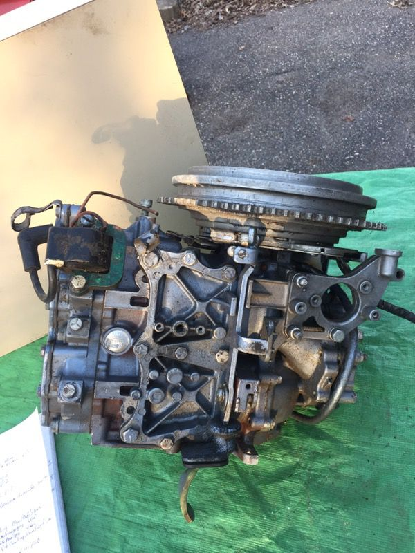 25 hp Johnson Evinrude power head for Sale in Inver Grove Heights, MN -  OfferUp