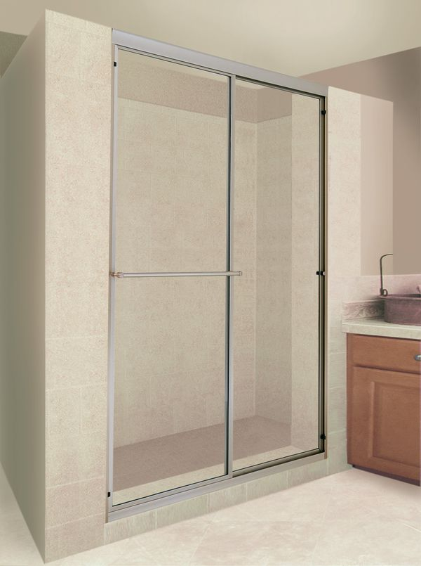 Delta 48 Quot To 60 Quot Traditional Sliding Shower Door Track