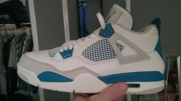 a96f9ef6945633 Jordan Military Blue 4s sz 11.5 vnds for Sale in Gallatin
