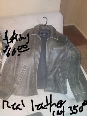 American eagle Genuine Leather coat RN number 54452 size XL for sale  Broken Arrow, OK