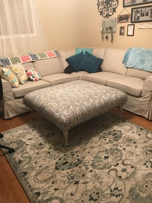 Large ottoman foot stool for Sale in Richmond, VA