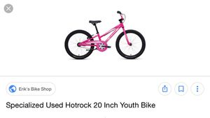 Specialized used hot rock bike for Sale in Washington, DC
