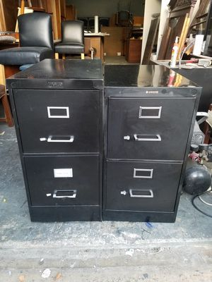 New and used filing cabinets for sale in houston tx offerup black two drawer letter vertical file cabinet 50 each good condition for sale in malvernweather Image collections
