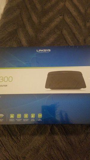 Linksys N300 Wi-Fi Router for Sale in Manassas, VA