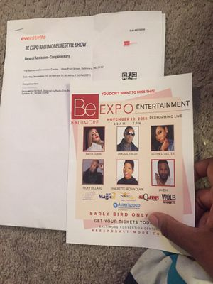 Be Expo Tickets for Sale in Baltimore, MD