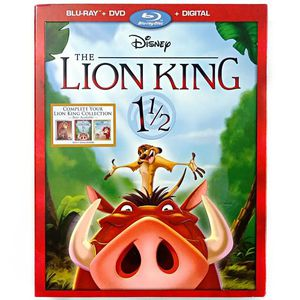 The Lion King 11/2 (Blu-ray + DVD + Digital)One and a Half for Sale in San Diego, CA