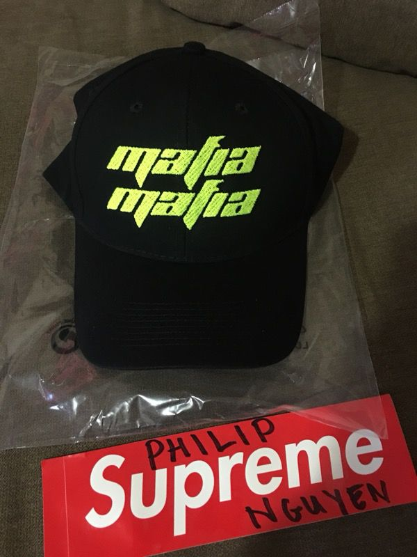 Yeezy Mafia SZN Adjustable Hat Black Semi-Frozen Yellow for Sale in ... 628dcfdd1a2