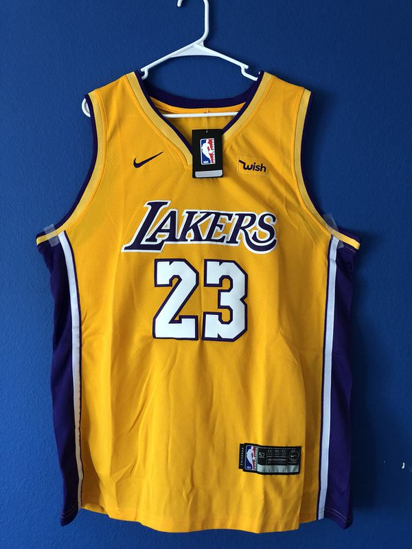 official photos 656c2 28b21 Lebron James Lakers Jersey custom XL for Sale in West Covina, CA - OfferUp