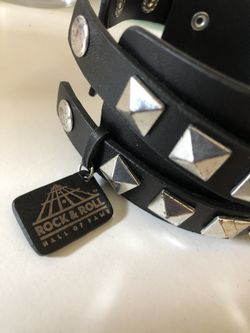 Rock & Roll Spiky Bracelet. Thumbnail
