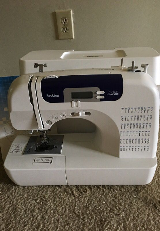 Sewing Machine: Brother CS-6000i Computer