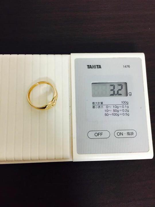 Tiffany & Co Open Heart 18k RING