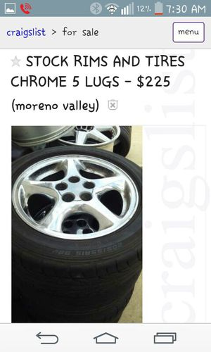 New and Used Stock rims for Sale in Claremont, CA - OfferUp