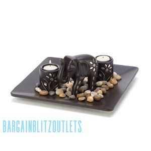Elephant Candleholder Set for Sale in New York, NY