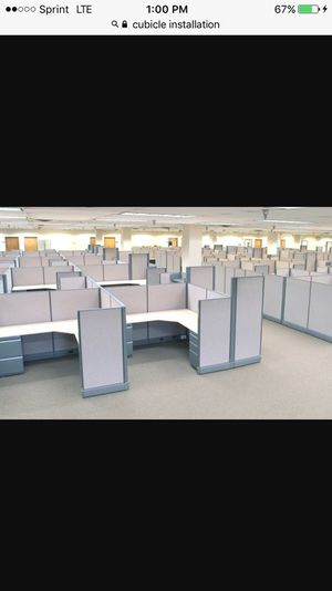 Office furniture installation/ cubicles for Sale in Milford, CT