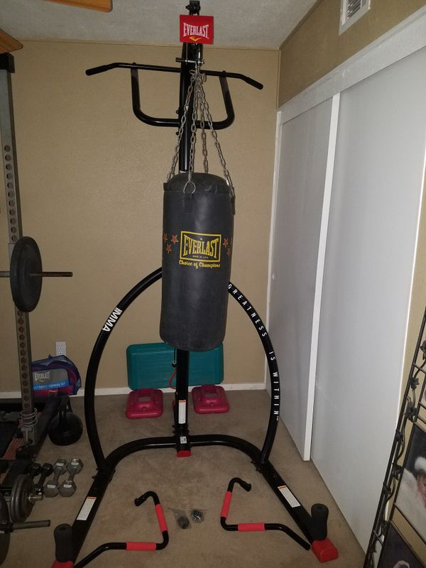 Everlast Mma Punching Bag Stand With