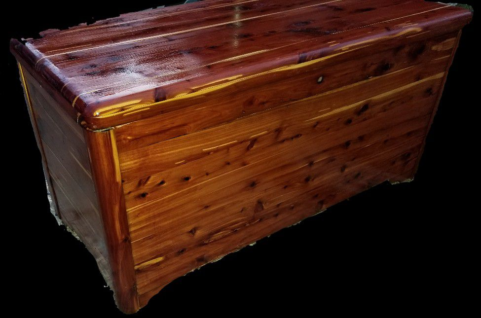 Gently restored Cedar Chest