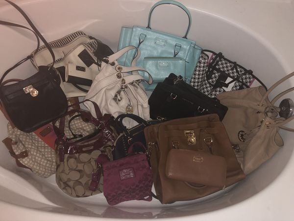 787c4d20b1 Michael kors Kate Spade and coach purses for sale for Sale in ...