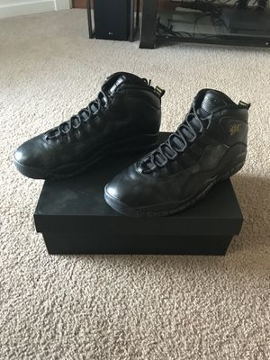 "4045d0a4745f95 Jordan retro 10 ""NYC"" size 13 for Sale in Puyallup"
