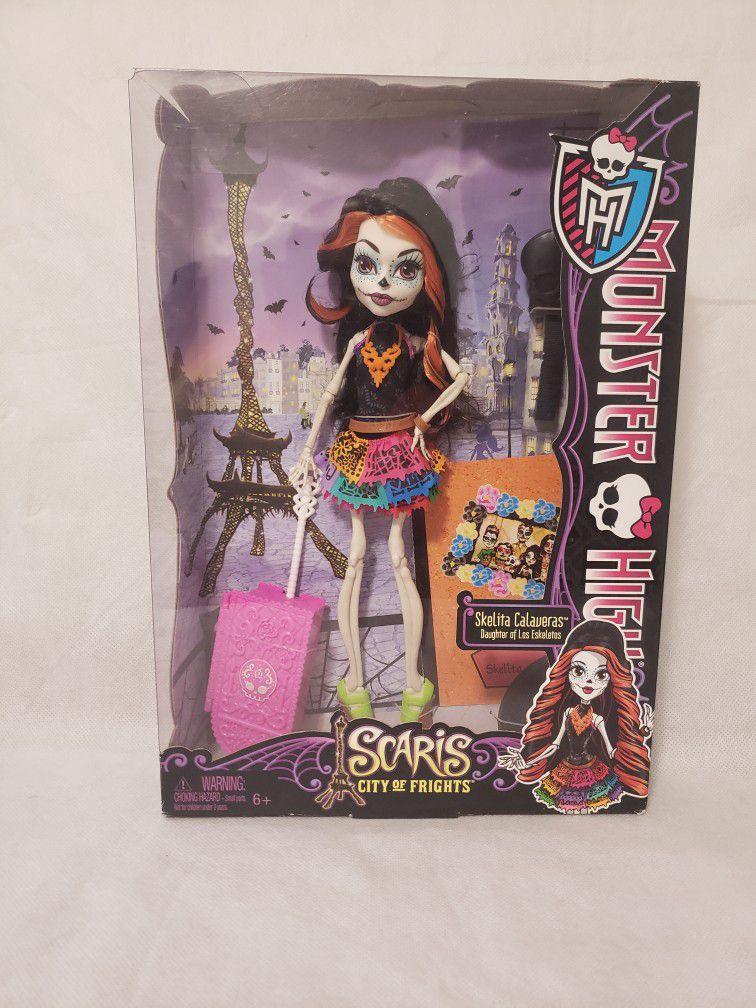New Monster High Doll Skelita Calaveras