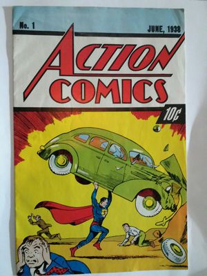 Superman DC Action Comics #1 No 1 June 1938 Replica Reprint for Sale in Phoenix, AZ