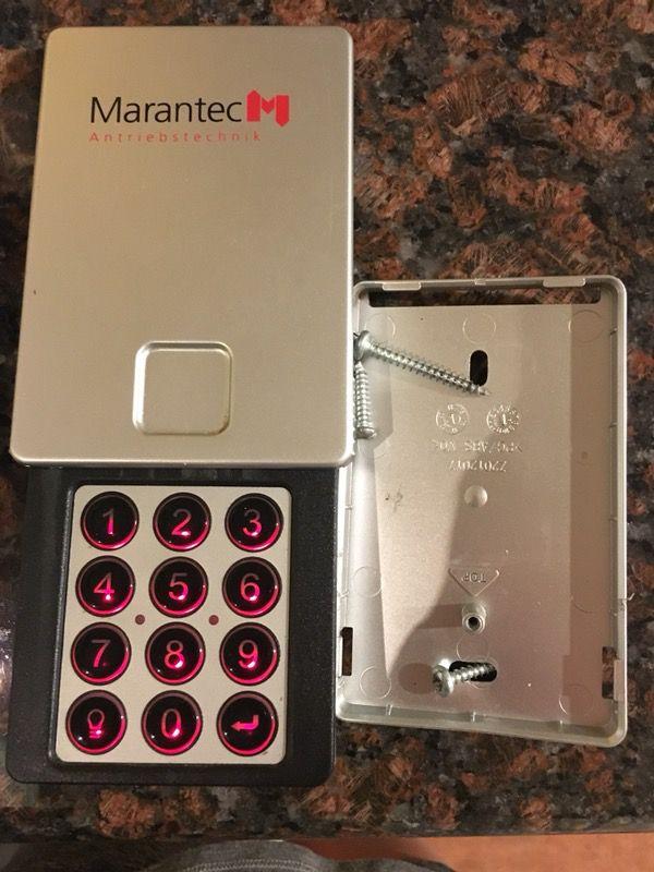 Marantec Garage Door Opener M13 631 Wireless Keyless Entry 315mhz