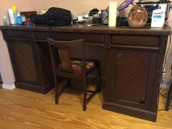 - Large Antique Bankers Desk For Sale In San Antonio, TX - OfferUp