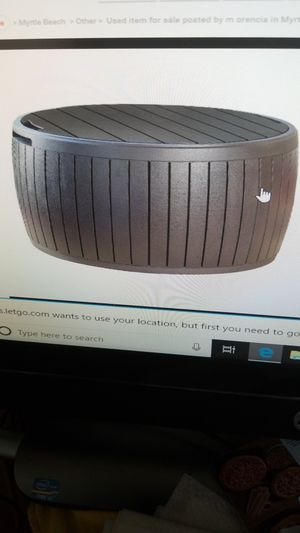 New Circa outdoor storage table deck box for Sale in Myrtle Beach, SC