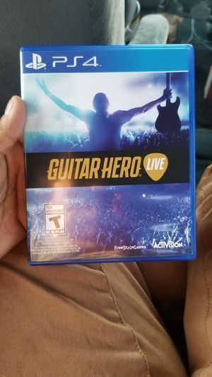 Guitar hero live ps4 for Sale in NO POTOMAC, MD