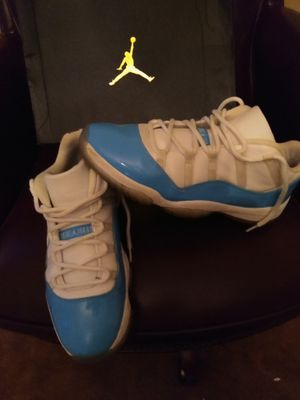 Jordan 11s NC blue sz 12 for Sale in Rustburg, VA