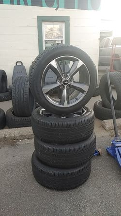 Mustang rims and tires Thumbnail