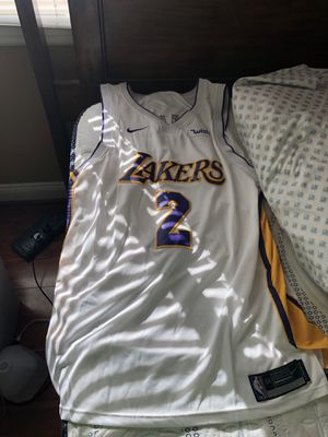 LONZO BALL LAKERS JERSEY (SIZE XL) for Sale in Sterling, VA