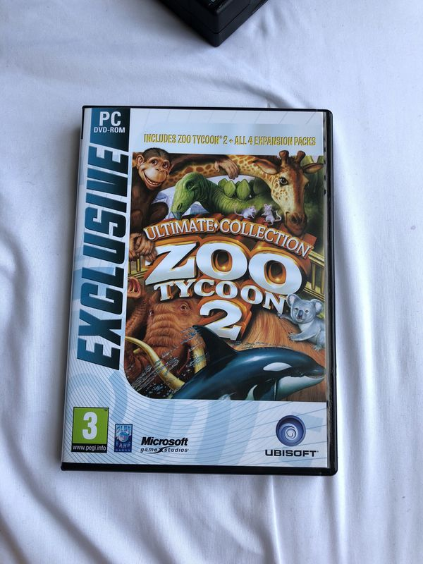 Zoo Tycoon 2 Ultimate Collection PC for Sale in Torrance, CA - OfferUp