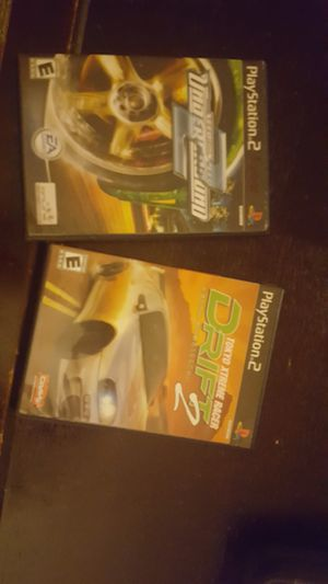 Ps2 games both for $15 for Sale in Westminster, MD