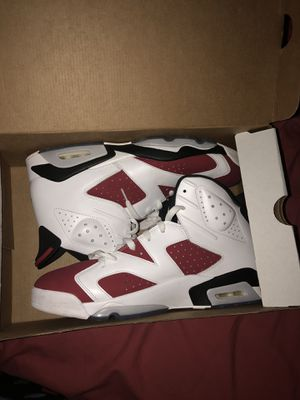 "Jordan 6 ""Carmine"" Size 13 for Sale in Oxon Hill, MD"