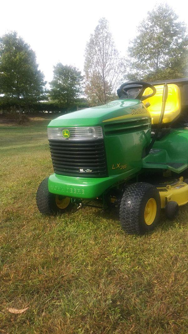 John Deere Lawn Mower Model Lx266 For Sale In Cary Nc