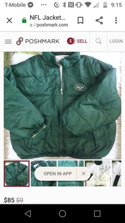 Old school jets jacket double sided Thumbnail
