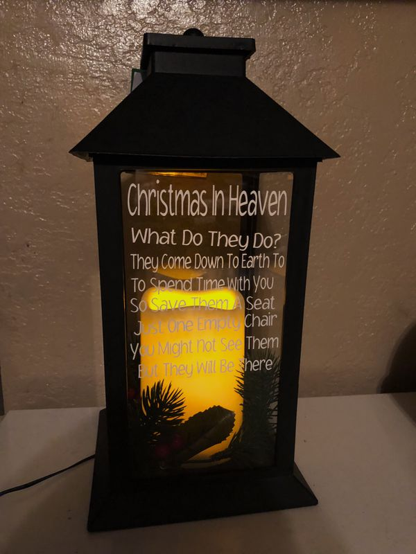 Christmas In Heaven Lantern.Christmas In Heaven Lantern For Sale In Guadalupe Az Offerup