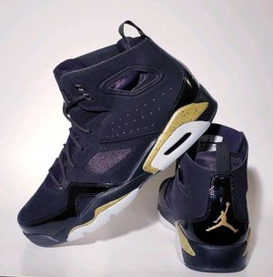 New! Nike Air Jordan Fight Club '91 Black and Gold Basketball Shoe -12 for Sale in UNIVERSITY PA, MD