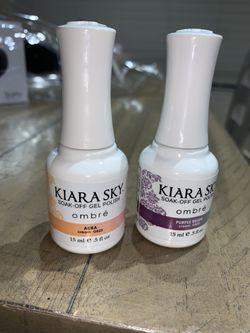 Kiara Sky soak-off gel polish Ombré Thumbnail