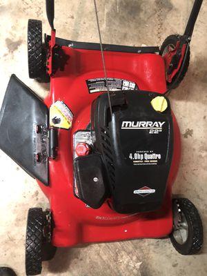 """Photo Murray 22"""" push mower lawn mower"""